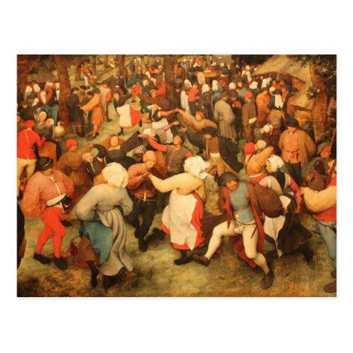 The Wedding Dance - 1566 Post Cards