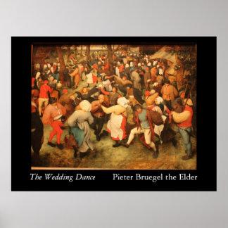 The Wedding Dance - 1566 Poster