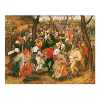 The Wedding Dance, 1607 Postcard