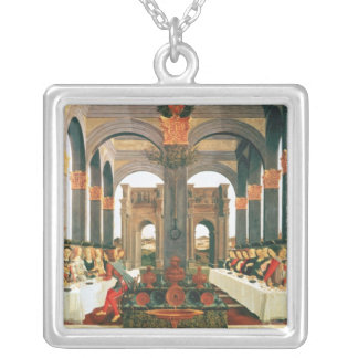 The Wedding Feast Silver Plated Necklace