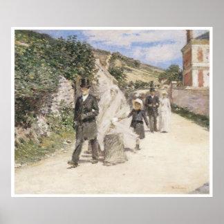 The Wedding March 1892 Theodore Robinson Print