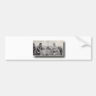 The wedding Meal Bumper Stickers