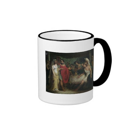 The Wedding of Alexander the Great  and Roxana Coffee Mugs