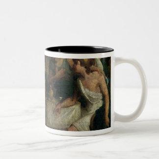 The Wedding of Alexander the Great  and Roxana Two-Tone Mug