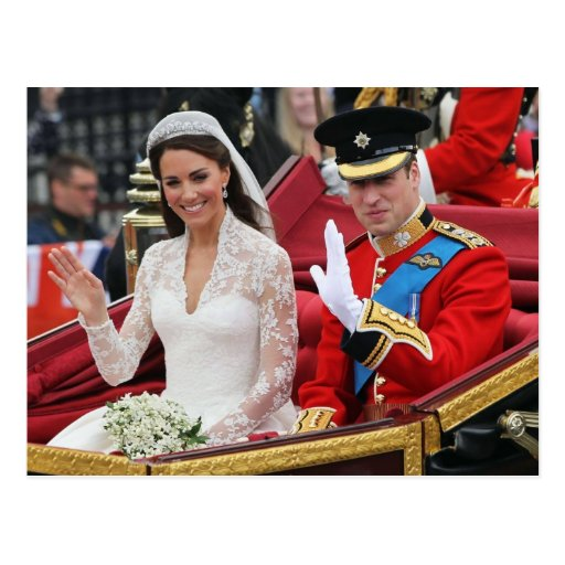 The Wedding of Their Royal Highnesses Post Cards