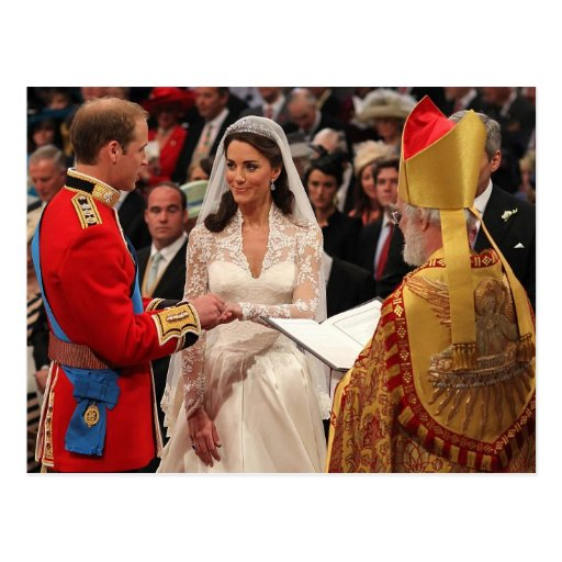 The Wedding of Their Royal Highnesses Post Card