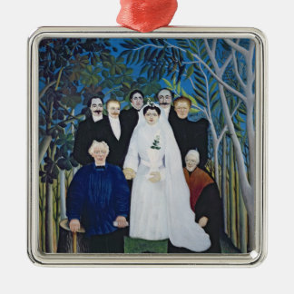 The wedding party, c.1905 christmas ornament