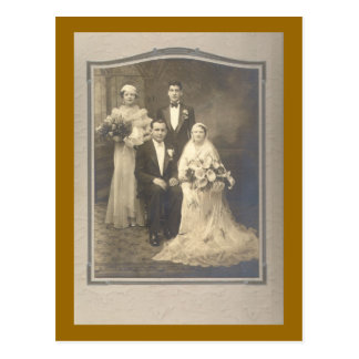 The Wedding Party Postcards