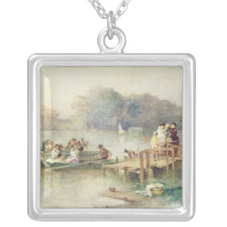 The Wedding Party Silver Plated Necklace