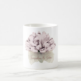 The Wedding / Pink Roses Basic White Mug