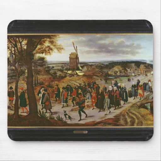 The Wedding Procession Mousepad