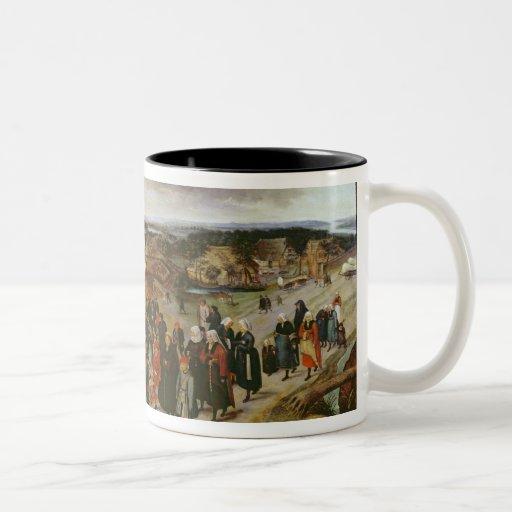 The Wedding Procession Coffee Mug