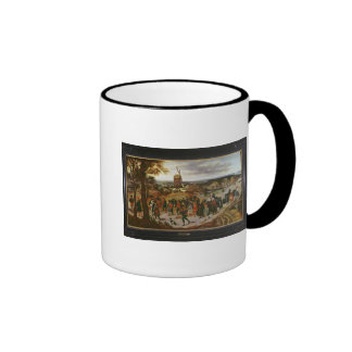 The Wedding Procession Ringer Mug