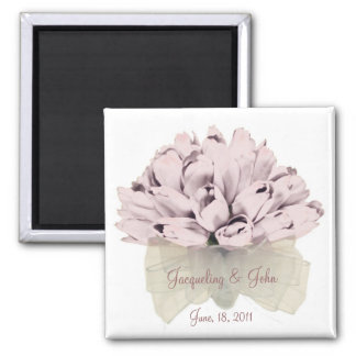 The Wedding ~ Square Magnet