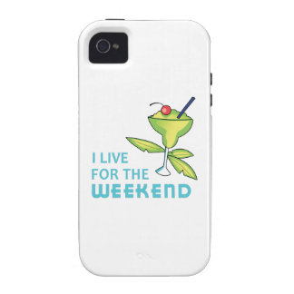 The Weekend Vibe iPhone 4 Covers
