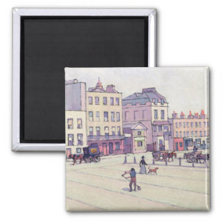 The Weigh House, Cumberland Market, c.1914 (oil on Square Magnet