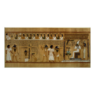 The Weighing of the Heart against Maat s Feather Poster