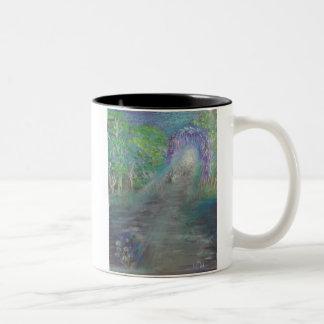 The Welcoming Path Two-Tone Coffee Mug