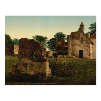The Wells of Hougoumont, Waterloo, Belgium Postcard