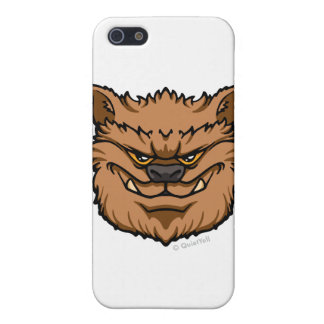 The Werewolf (Brown) iPhone 5 Covers