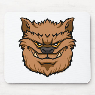 The Werewolf (Brown) Mouse Pad
