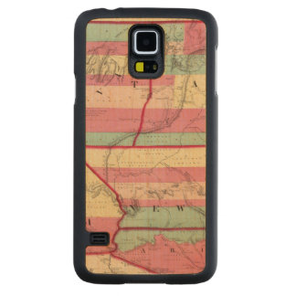 The West Carved Maple Galaxy S5 Case
