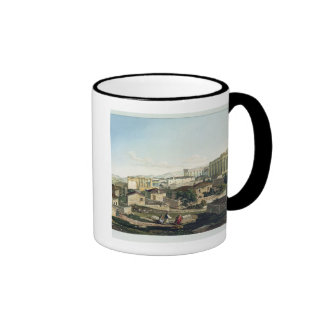 The West Front of the Parthenon, plate 19 from Par Coffee Mug