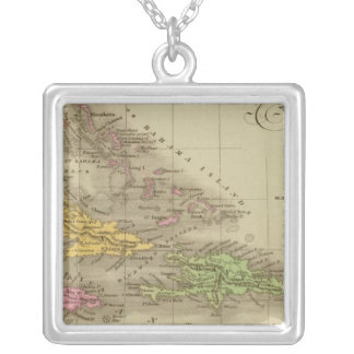 The West Indies Silver Plated Necklace