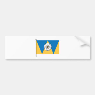 The West Yorkshirian Flag Bumper Sticker