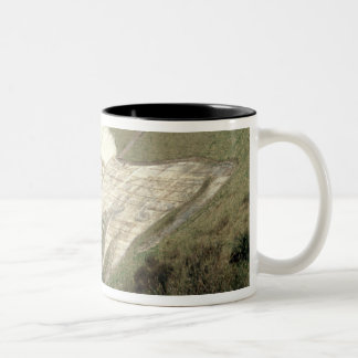 The Westbury White Horse Two-Tone Coffee Mug