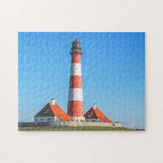 The Westerheversand Lighthouse Jigsaw Puzzle