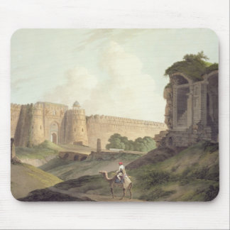 The Western Entrance of Shere Shah's Fort, Delhi, Mouse Pad