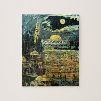 The Western Wall in Jerusalem Jigsaw Puzzle