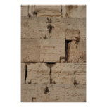 The Western Wall, Jerusalem Posters
