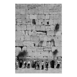 The Western Wall Print
