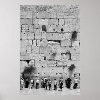 The Western Wall Print