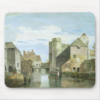 The Westgate, Canterbury (bodycolour on paper) Mouse Mat
