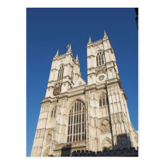 The Westminster Abbey church in London UK Postcard
