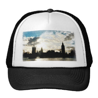 The Westminster Palace in London Cap