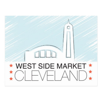 The Westside Market of Cleveland Postcard