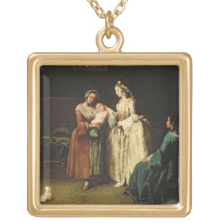 The Wet-Nurse Gold Plated Necklace