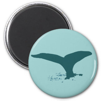 The whales fridge magnet