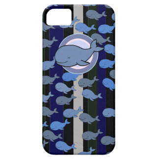 the whales patterning iPhone 5 covers