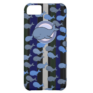 the whales patterning iPhone 5C case