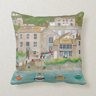 The Wharf at Mousehole Cushion