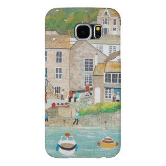 The Wharf at Mousehole Samsung Galaxy S6 Cases