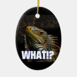 The What!? Iguana Christmas Tree Ornament