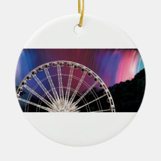 The Wheel in the sky keeps on turning Christmas Ornament