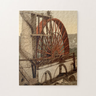 The Wheel, Laxey, Isle of Man, England Jigsaw Puzzle