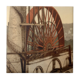 The Wheel, Laxey, Isle of Man, England Tile